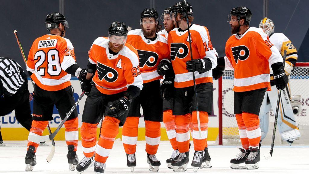 TV: Malkins jättebjudning - Flyers slog Penguins efter förlängning