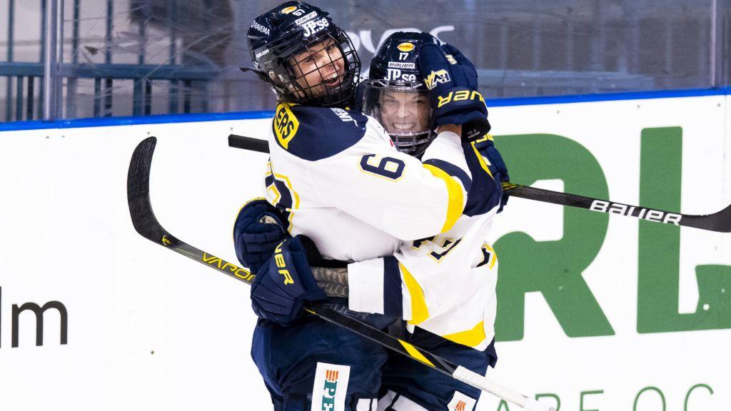 Sjätte raka segern för HV71