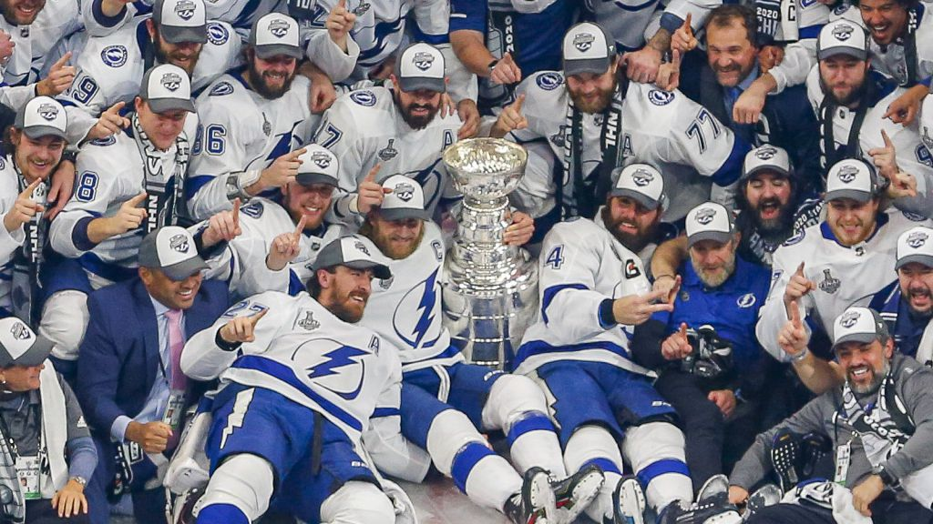 2020 års Stanley Cup-mästare.