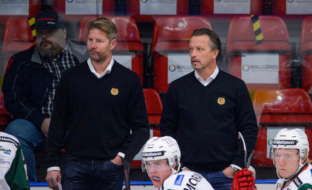 Johan Hedberg och Örjan Lindmark.
