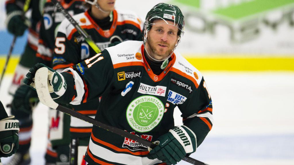 Fredrik Hansson gör hockeycomeback – i Tyringe