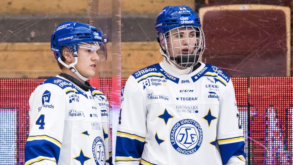 Isak Rosén och juniorkollegan Erik Hedlund.