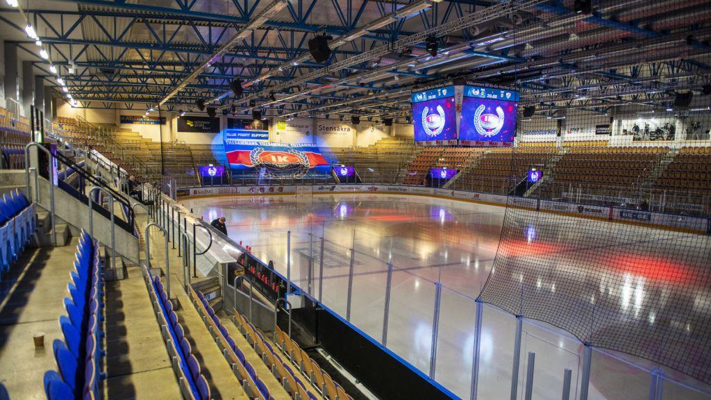 Be-Ge Hockey Center är SHL:s minsta arena.