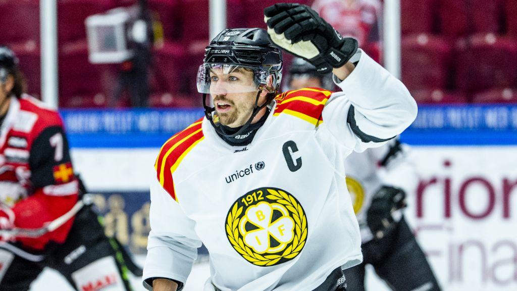 Brynäs glädjebesked – kaptenen närmar sig comeback