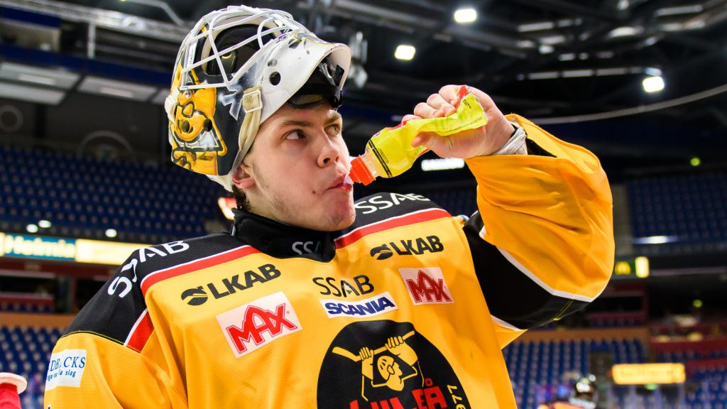 Jesper Wallstedt har haft en fin säsong med Luleå i SHL.