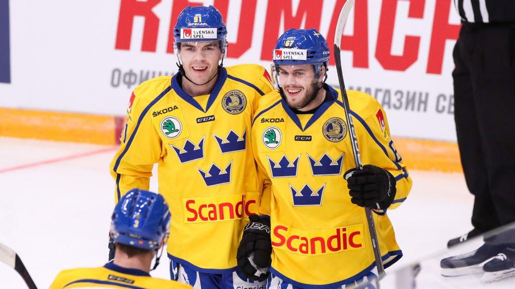Magnus Pääjärvi och Pontus Åberg.