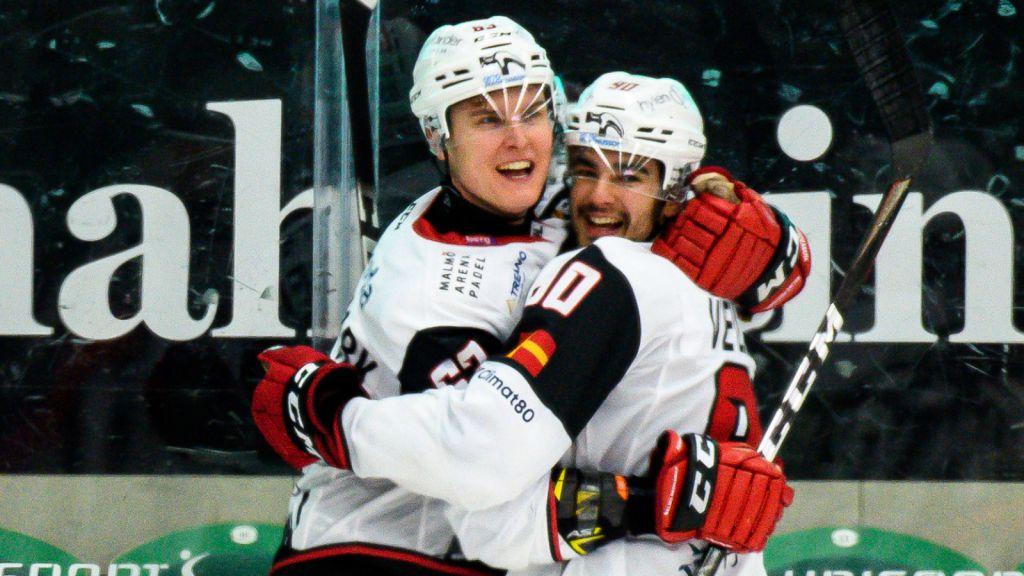 Fredrik Händemark fick bästa tänkbara avslut på tiden i Malmö.