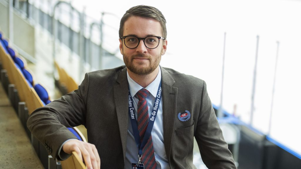 Martin Åkerberg har varit klubbchef i Oskarshamn sedan 2012.