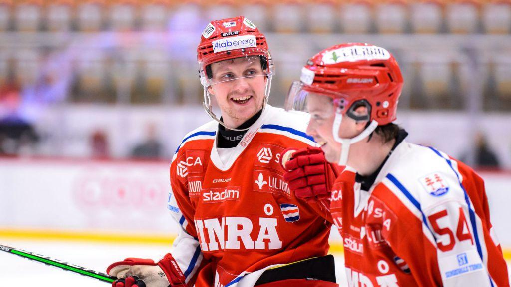Jens Lööke gjorde mål.