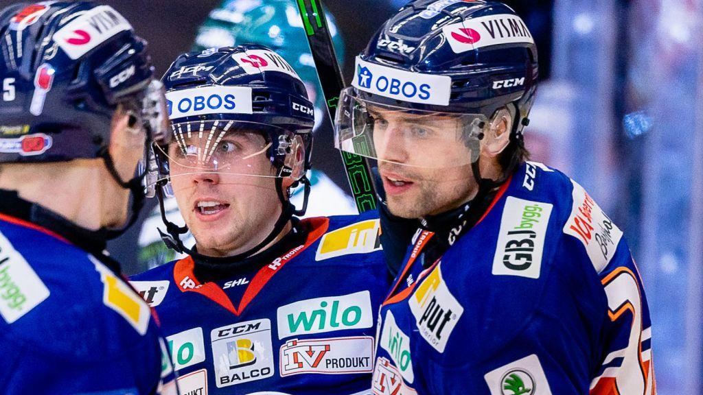 Jack Drury och Emil Pettersson.
