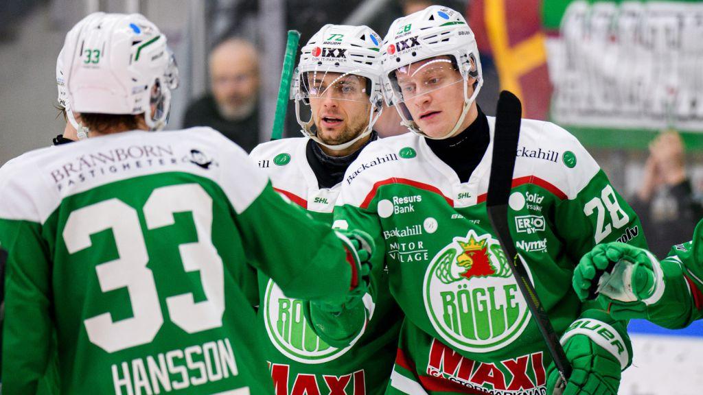 Anton Bengtsson är en av flera Röglespelare i Tre Kronor.