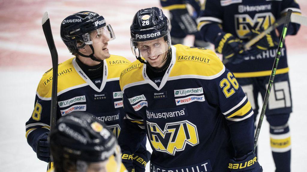 HV 71 segrare hemma mot Färjestad – Alexander Bergström matchvinnare