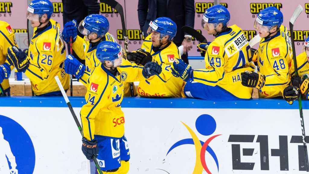 Skyttekungen Emil Pettersson blev ensam svensk målskytt.
