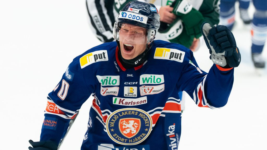 Richard Gynge tvåmålsskytt i Växjös seger