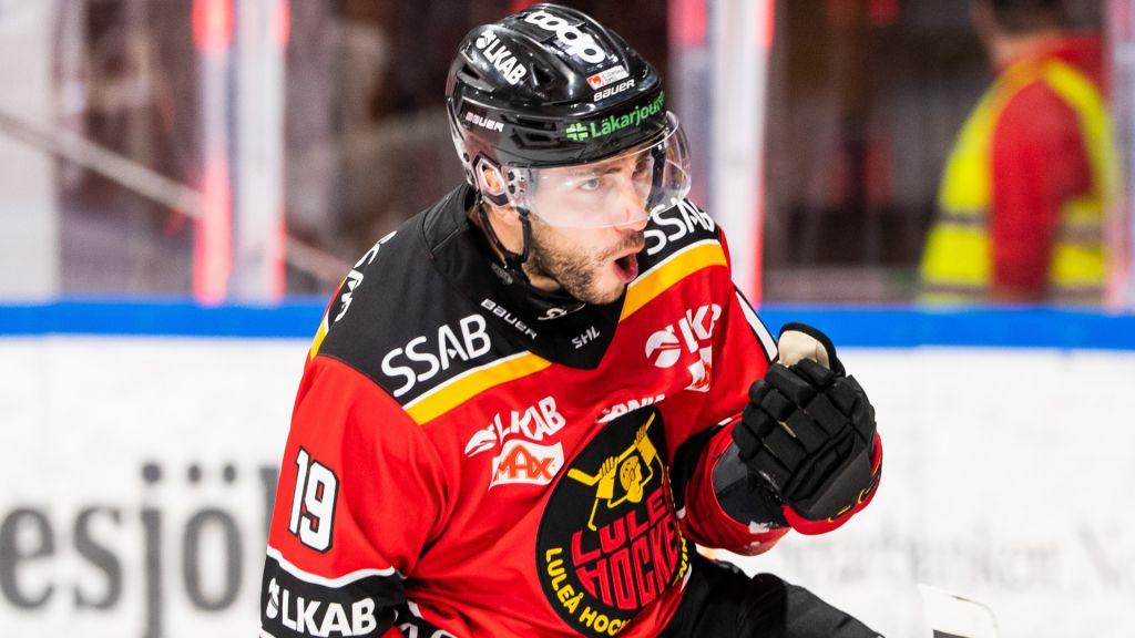 Konstantin Komarek tvåmålsskytt i Luleås seger