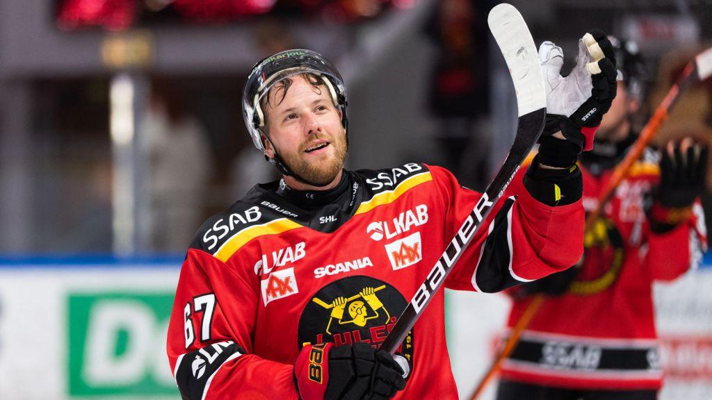 TV: Jonas Bergqvist tror Luleå Hockey vinner SM-guld