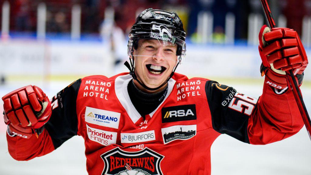 Anton Olsson sätter sitt första SHL-mål för Malmö
