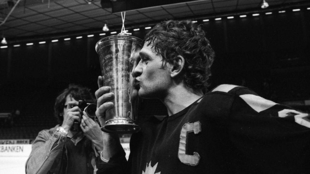 Hardy Nilsson efter SM-guldet 1978.