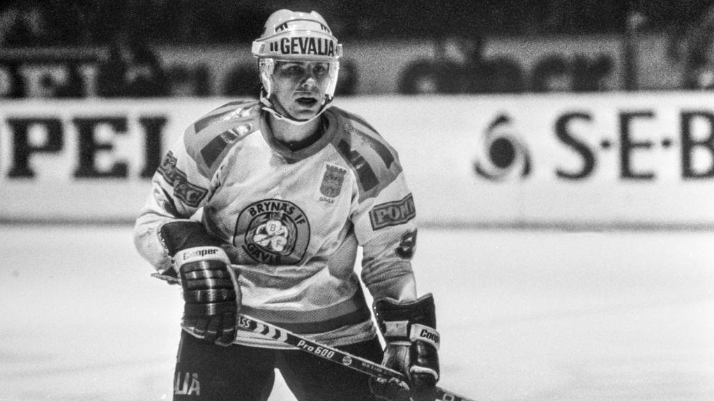 Mats Näslund i SM-finalen 1980.