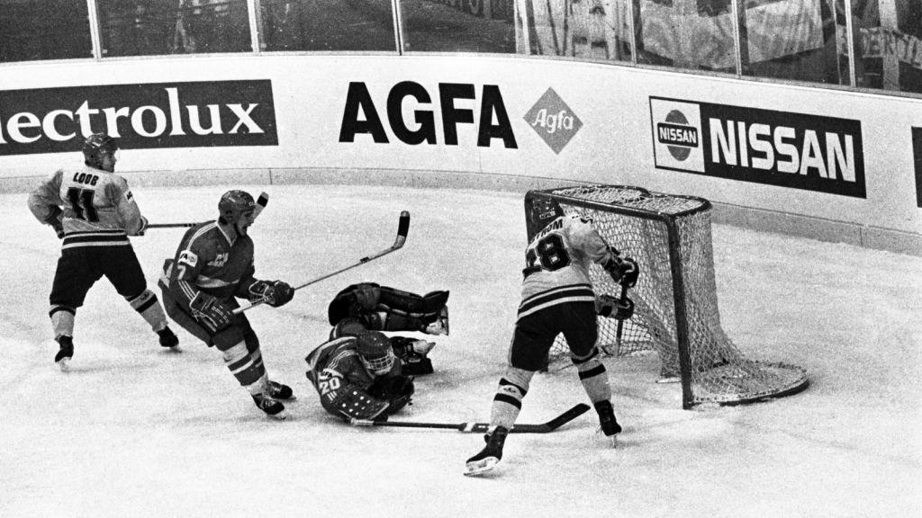 Ett av svensk idrotts mest klassiska ögonblick.