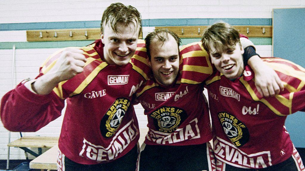 Smurfkedjan – Gozzi, Larsson och Molin.