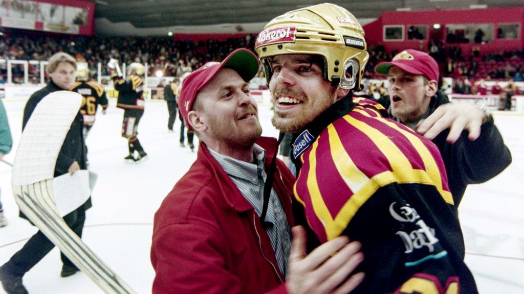 Ove Molin firar guldet 1999.