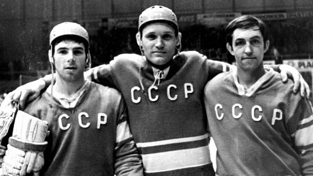 Valerij Charlamov, Vladimir Petrov & Boris Michailov.