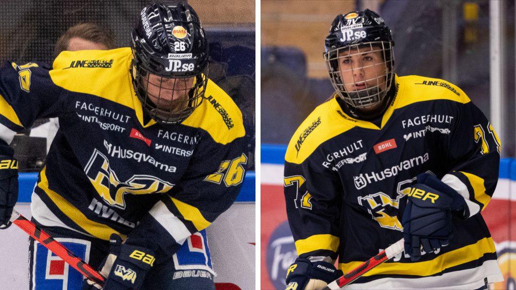 Hanna Olsson och Anna Kjellbin.