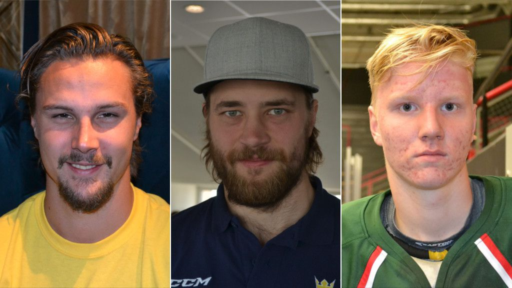 Erik Karlsson, Victor Hedman och Rasmus Dahlin.