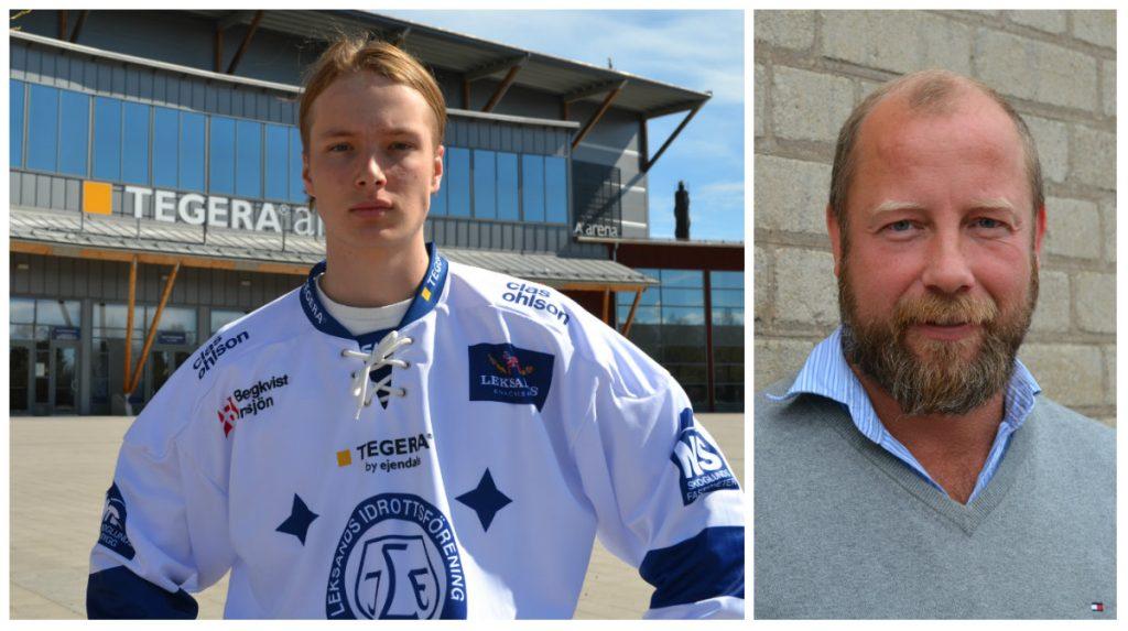 Viktor Rönnqvist är son till målvaktslegendaren Petter Rönnqvist.