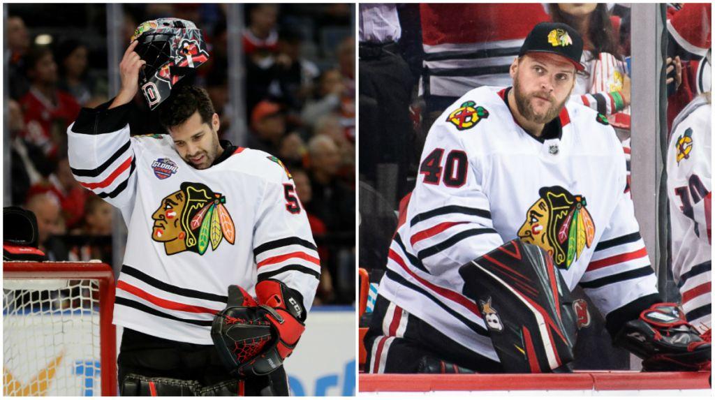 Chicago Blackhawks kommer att få svårt att behålla både Corey Crawford och Robin Lehner.