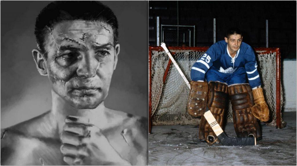 Terry Sawchuk - tidernas kanske mest ikoniske målvakt.