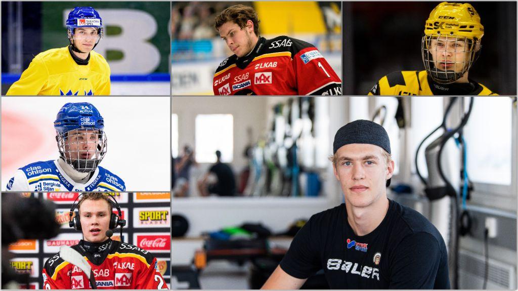 Nya rankingen: Draften kan nå historiska svenskhöjder