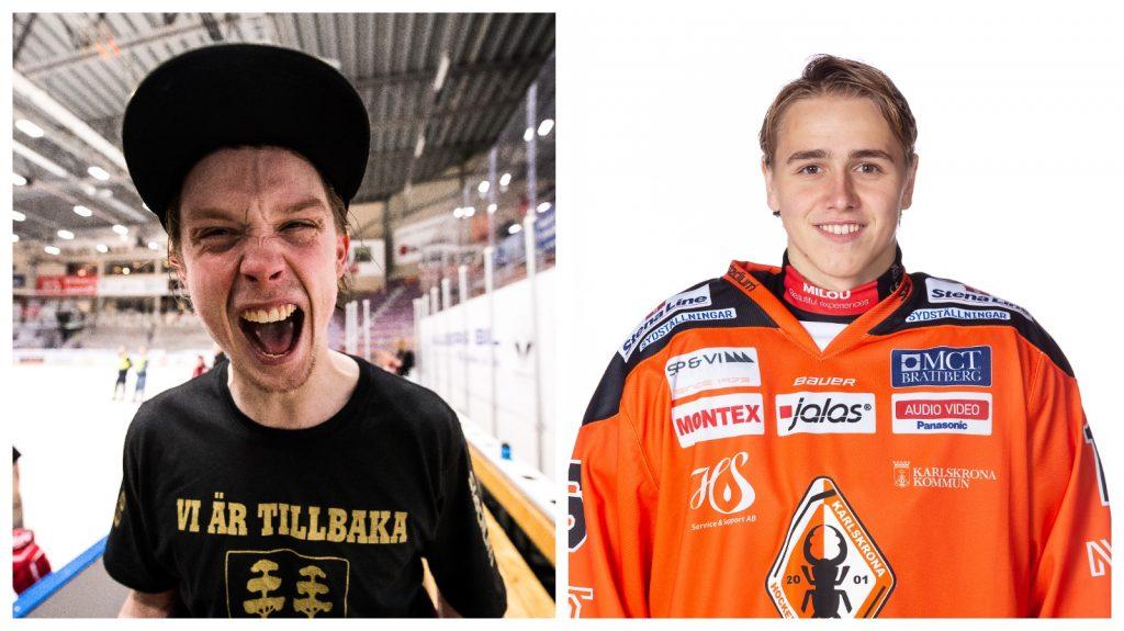 Jonathan Dahlén och Linus Karlsson trejdades mot varandra.