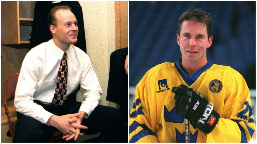 Ulf Dahlén hjälpte Ragnarsson under hans första säsong i NHL.