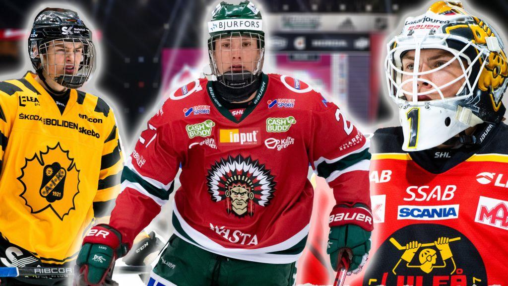 RANKING: De tio hetaste svenskarna inför NHL-draften 2021