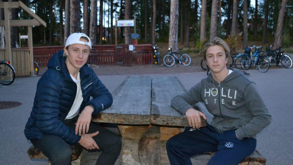 Eric och lillebror Arvid.