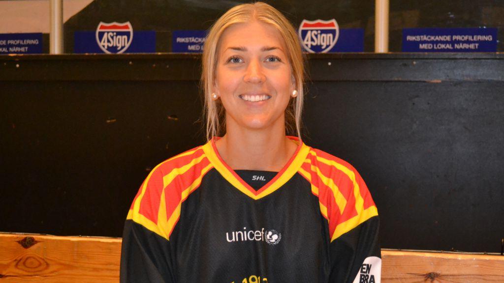 Erika Grahm fick en fin avslutning på karriären i Brynäs.