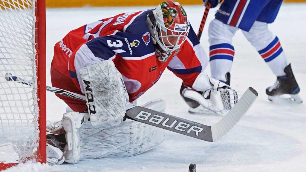 Lars Johansson är nu inne på sin tredje säsong i CSKA Moskva