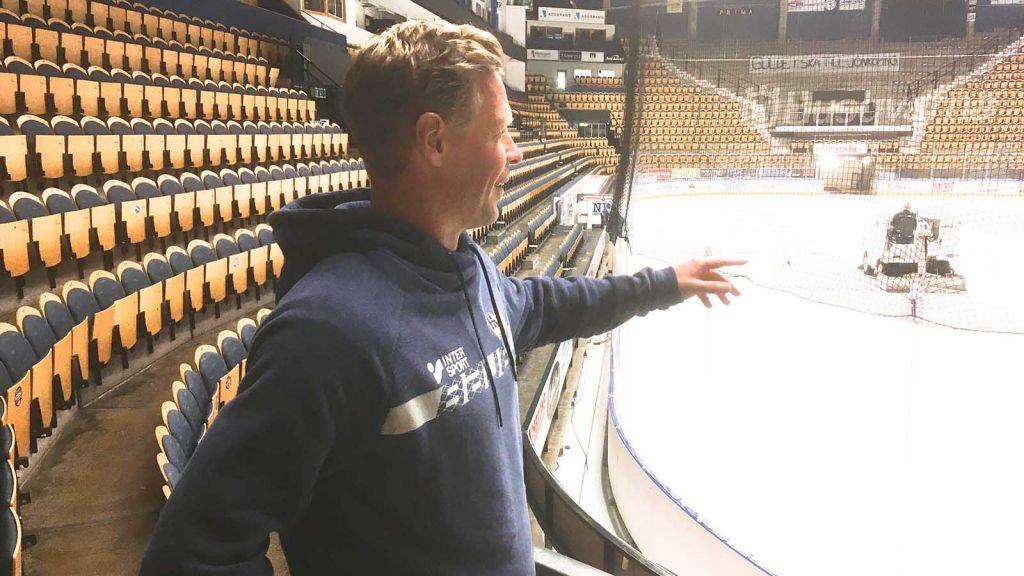HV71:s nye huvudtränare pekar ut riktningen.