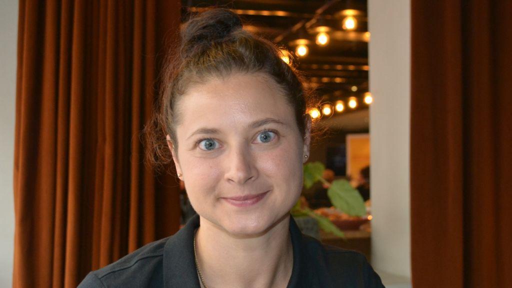 Luleåkaptenen Jenni Hiirikoski.