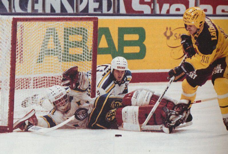 Peter Åslin in action.