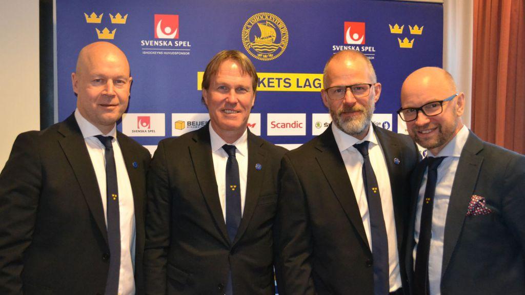 Tre Kronors ledarstab.