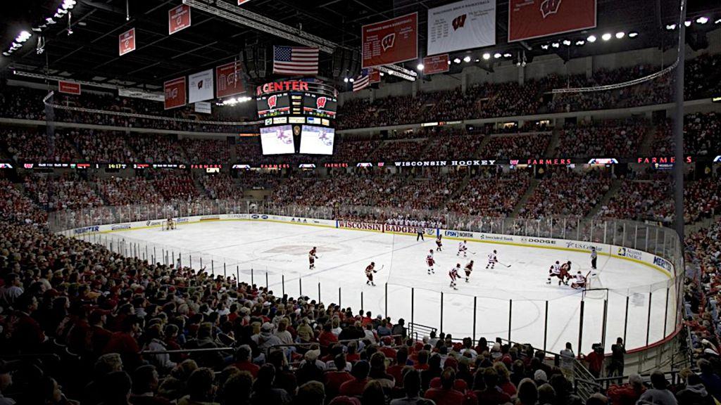 Kohl Center i Madison, Wisconsin.