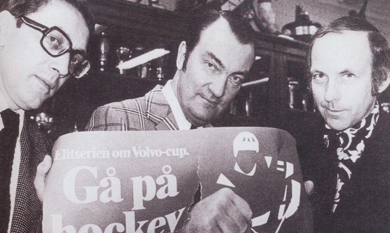Jan Juhlin, Lars Norrman och Sven Bergqvist.
