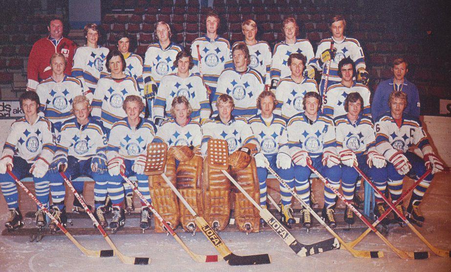 Leksands SM-guldlag 1973.