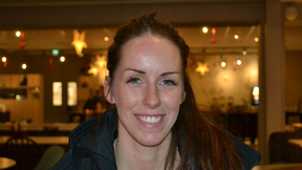 Lina Wester – poängdrottning senaste säsongen.