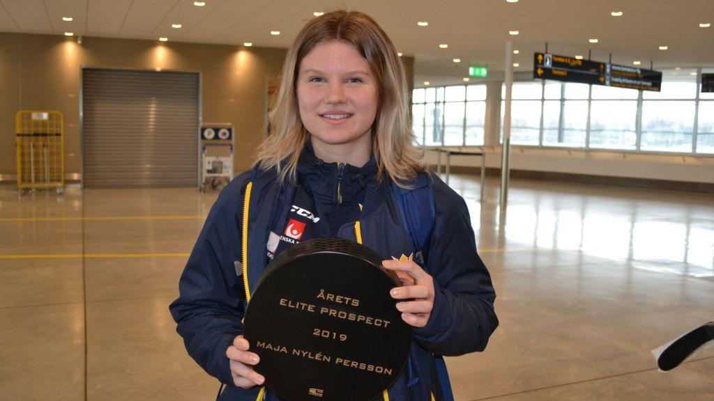 Maja Nylén Persson.