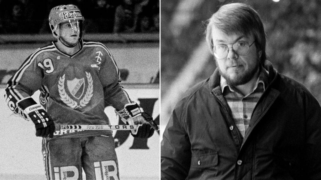 Bosse Berglund och Leif Boork drog inte alltid jämnt.