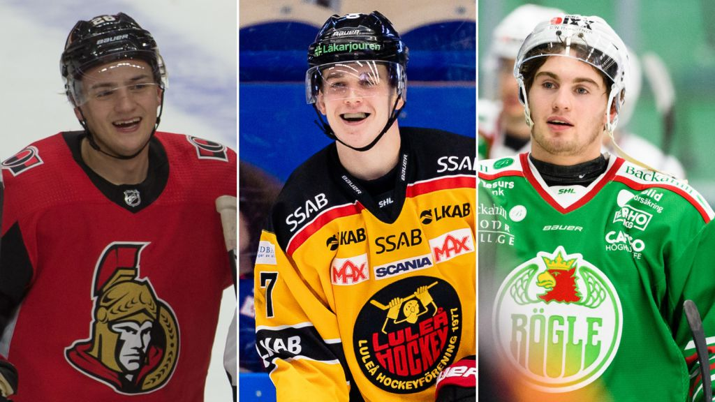 Erik Brännström, Nils Lundkvist och Nils Höglander figurerar på listan.